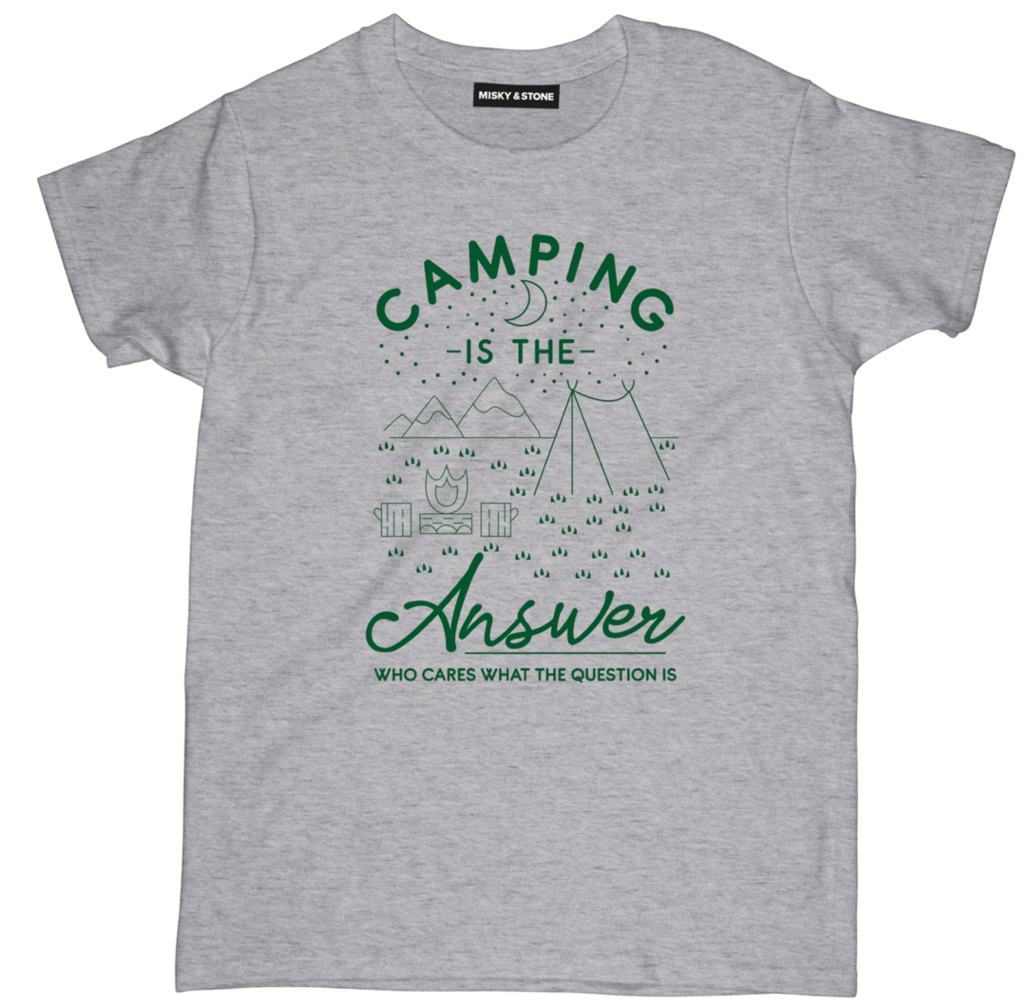 camping is the answer t shirt, camping shirts, camp shirt, funny camping shirts, camping tee shirts, funny camping t shirts, camp t shirt designs, camp shirt designs, cool camp tees, cool camping tees, camping graphic tees,