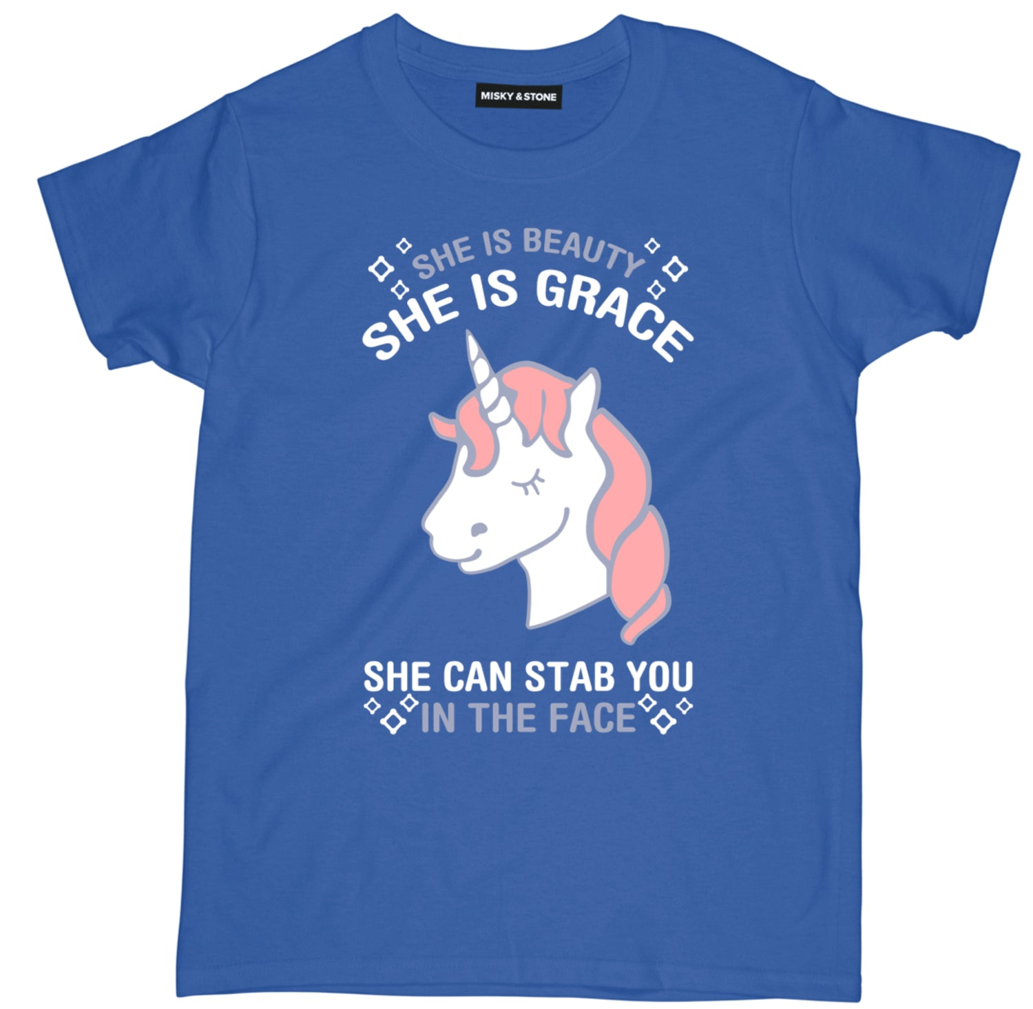 She Is Beauty Unicorn Tee