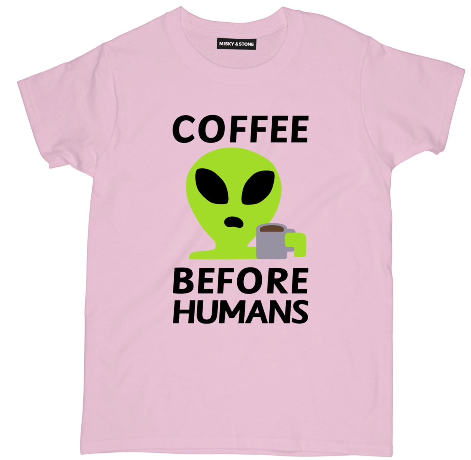 Coffee Before Humans Tee