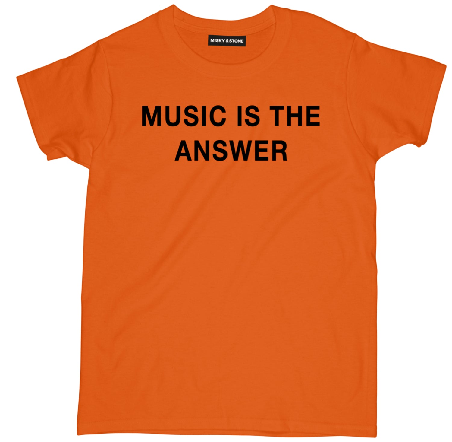 Music Is The Answer Shirt