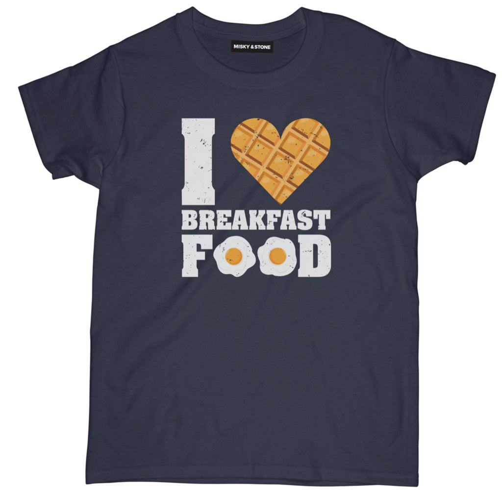 i love breakfast food t shirt, i love breakfast shirt,