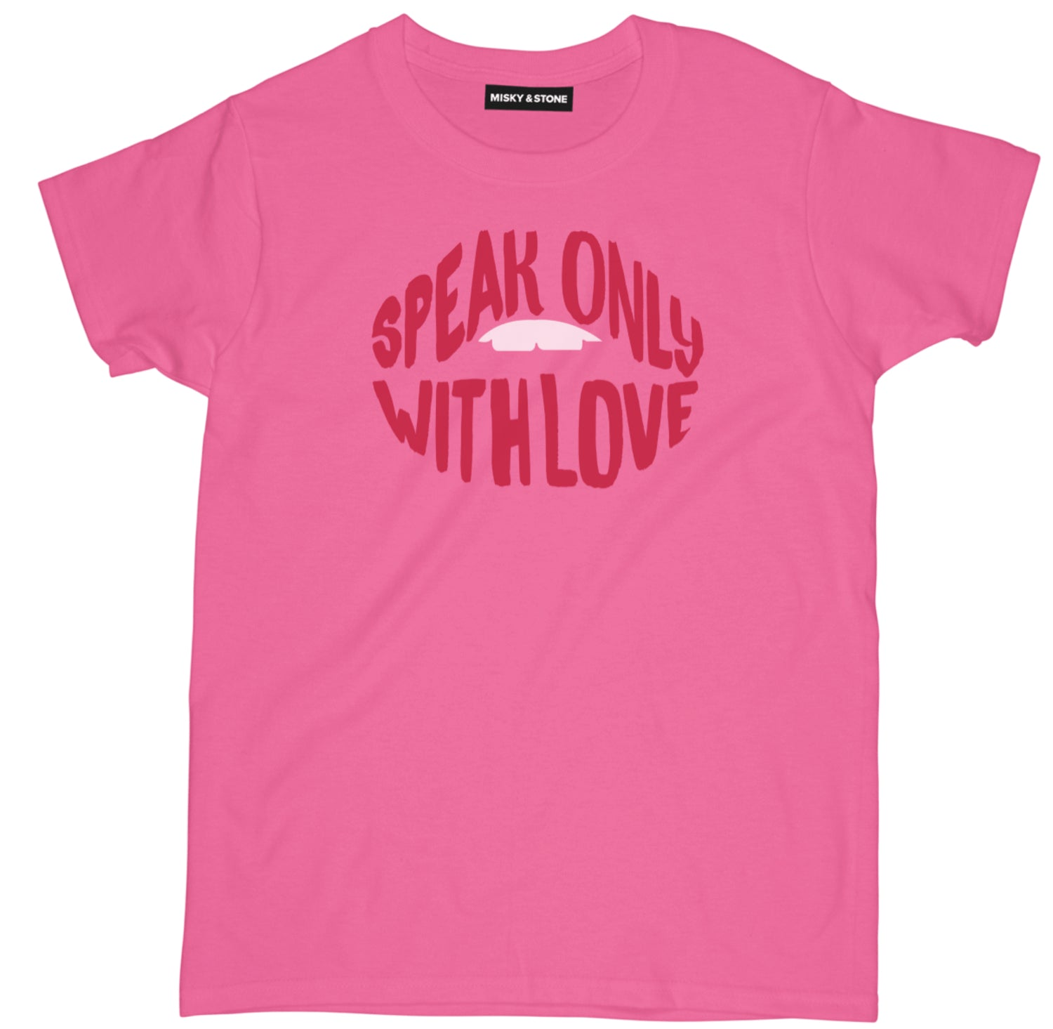 Speak Only With Love Tee