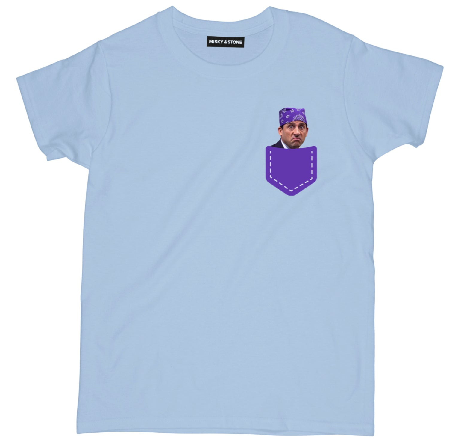 Prison Mike Left Pocket Womens Tee