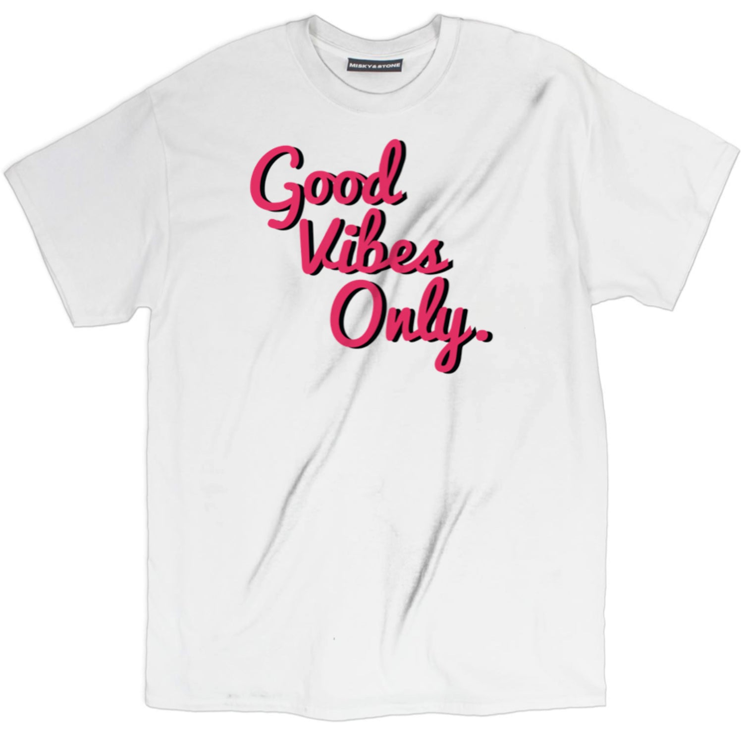 Good Vibes Only Pink/Black Shirt