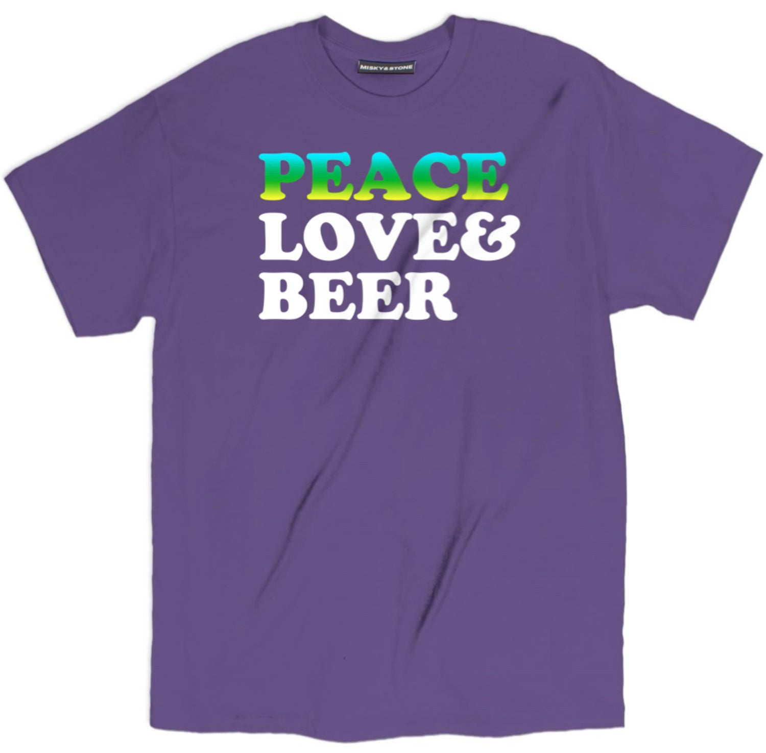 Peace Love And Beer T Shirt