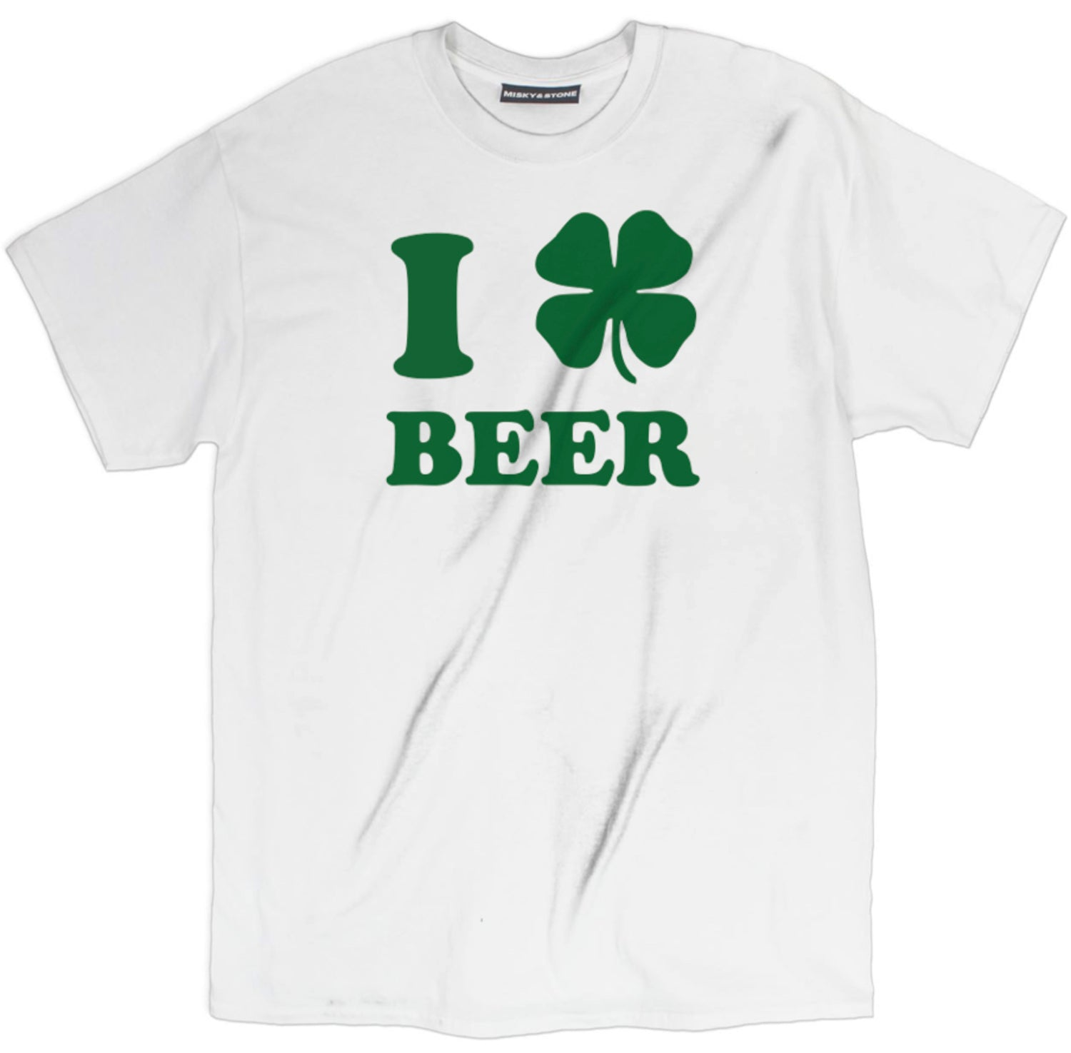 I Love Beer St Patricks Day Tee Shirt