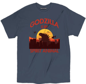 GODZILLA IS MY SPIRIT ANIMAL T SHIRT, SPIRIT ANIMAL TEE, godzilla t-shirt, funny tee, spirit animal tee,  godzilla t shirt,  godzilla tee shirt, godzilla tee, godzilla apparel, godzilla clothing, godzilla t shirt, godzilla shirt, godzilla tee shirt, godzilla clothing, godzilla apparel, godzilla merch, godzilla merchandise, movie tee shirts