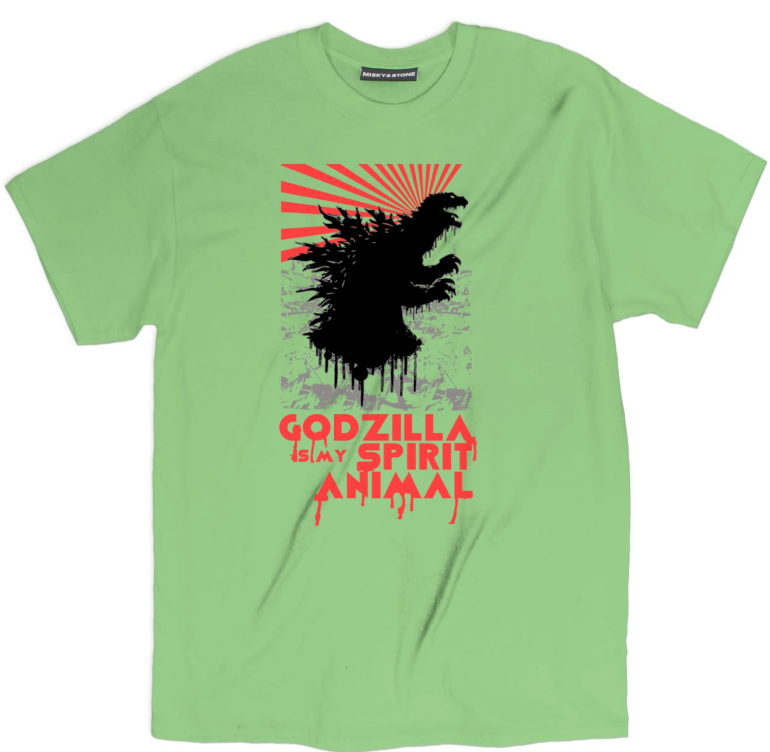 Godzilla Is My Spirit Animal Monster Tee