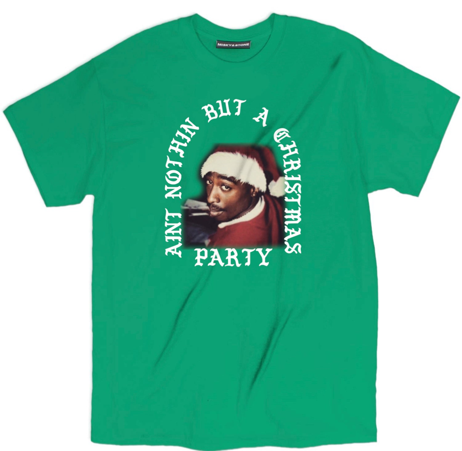 2pac Christmas Party Tee
