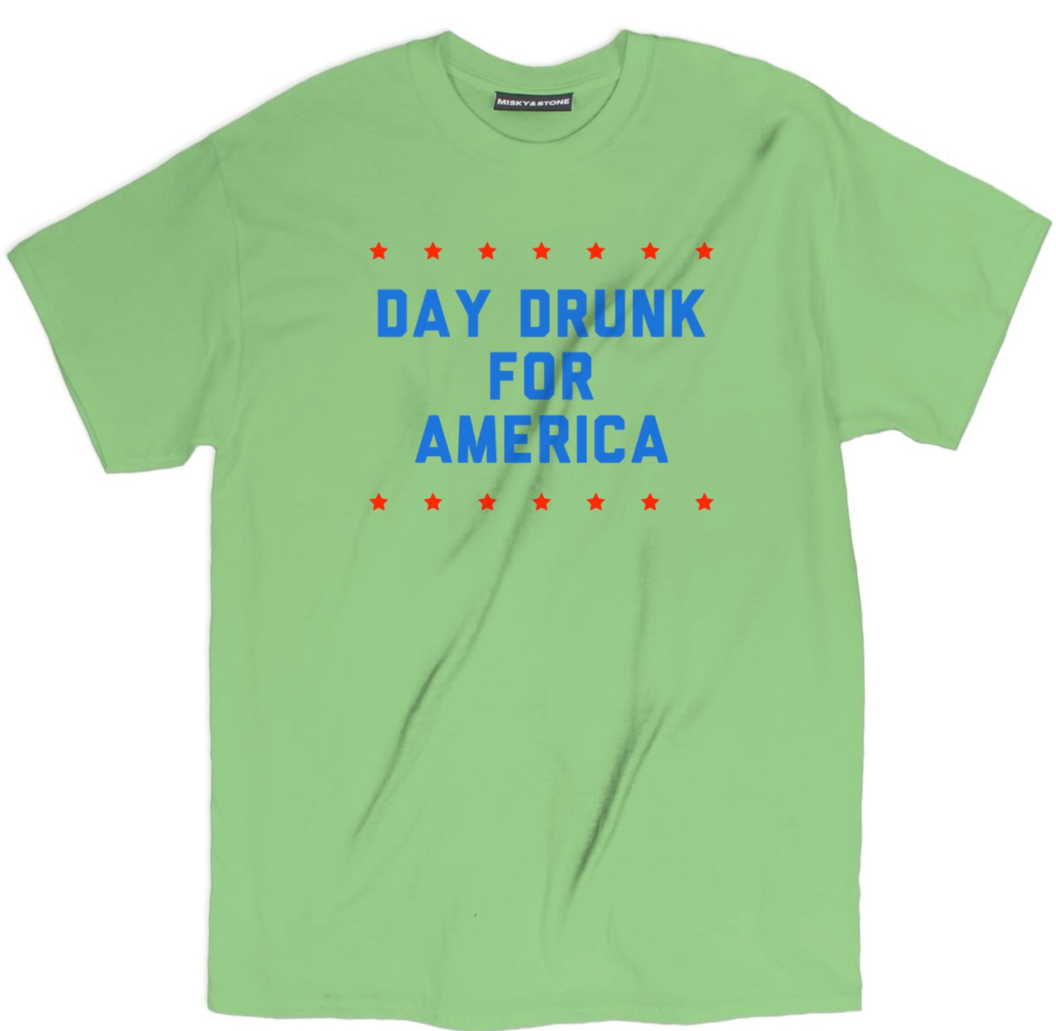 Day Drunk For America Tee