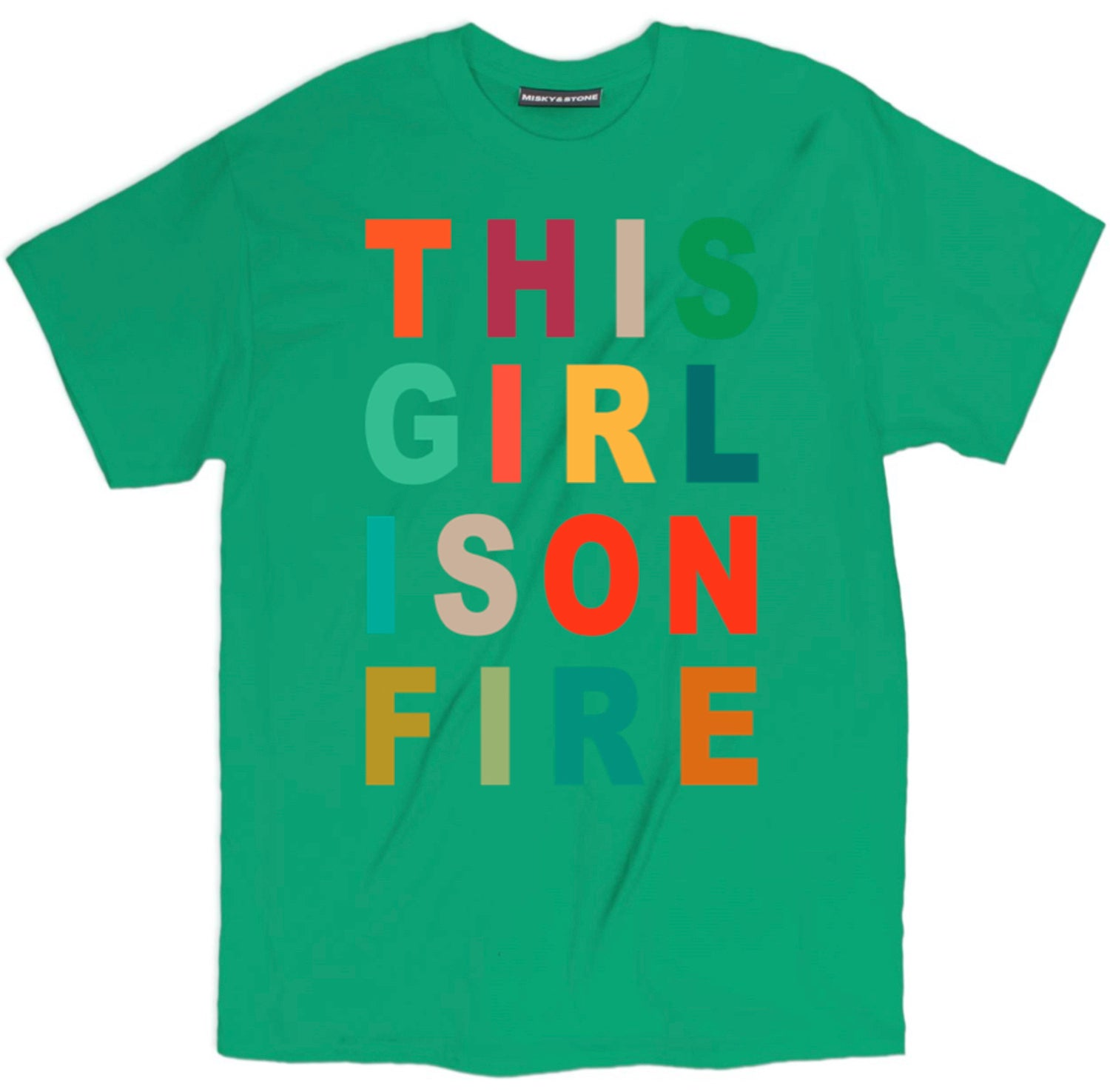This Girl Is On Fire Tee