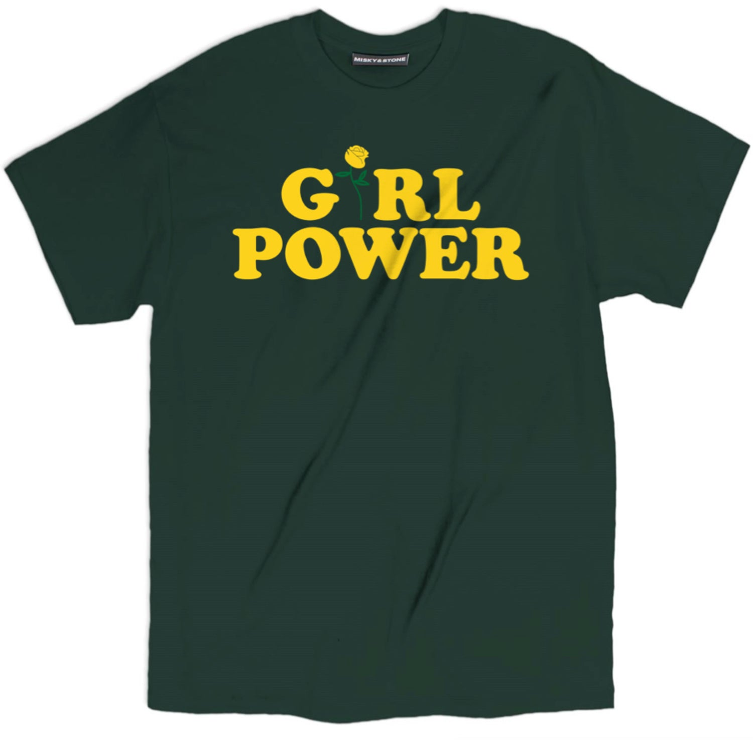 Girl Power Yellow Rose Shirt