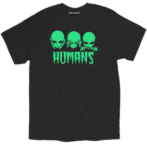 HUMANS TEE, ALIEN RAVE T SHIRT, trippy shirts, trippy tees, trippy t shirts, trippy clothing, cool trippy shirts, trippy cat shirt, trippy tee shirts, trippy alien shirt, funny tshirt quotes,