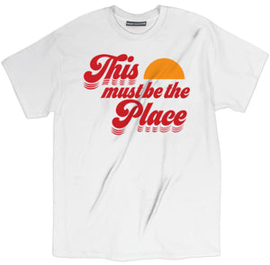 this must be the place shirt, band t shirt, rock band t shirt, band tees,