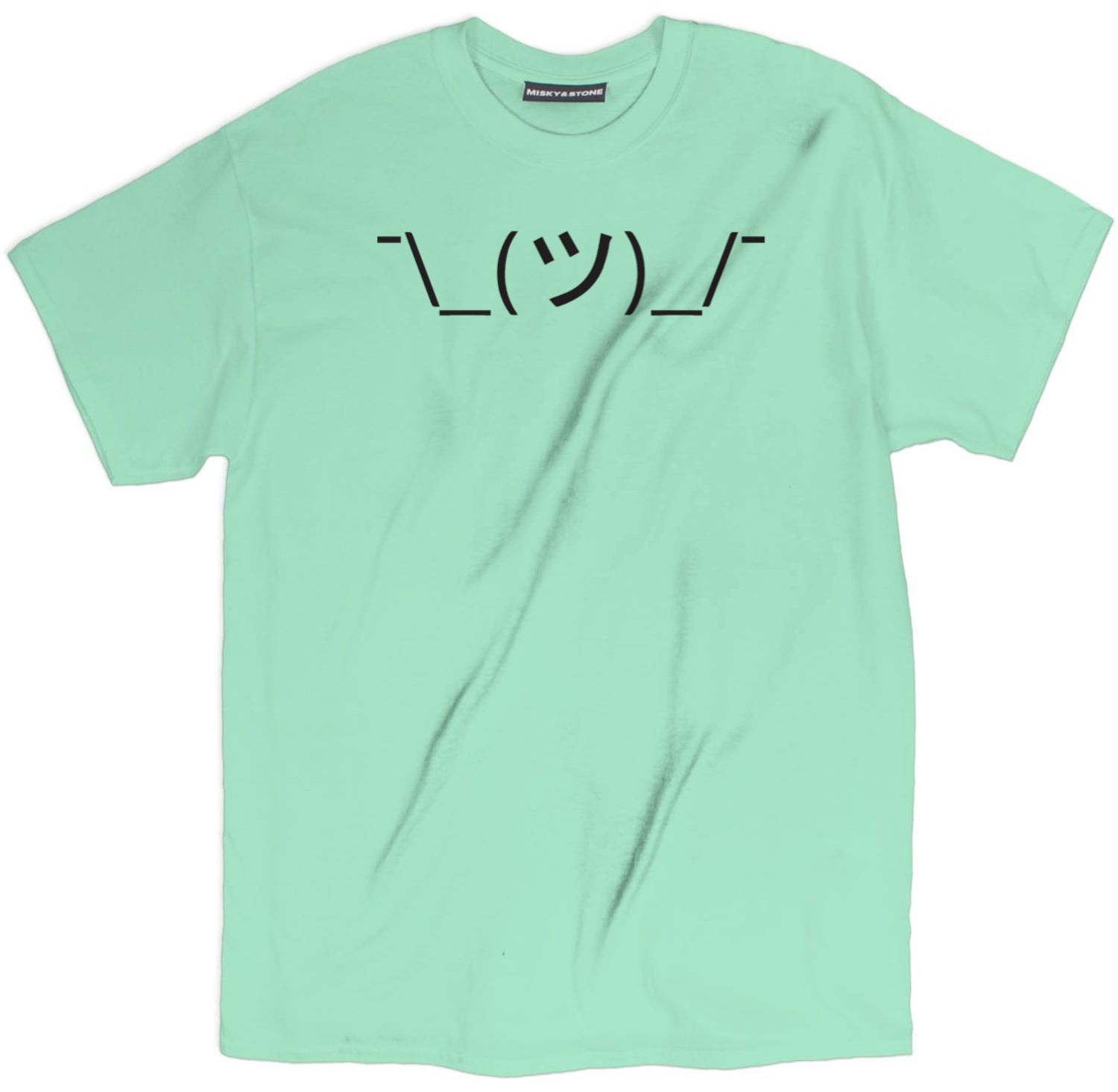Shrug Text Shirt