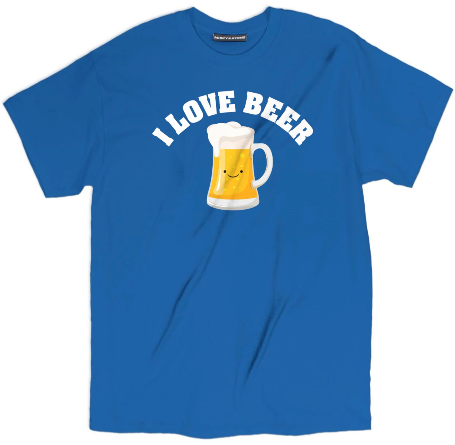 I Love Beer Smily Face Shirt