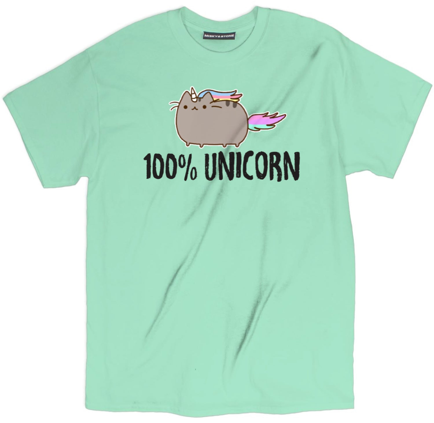 100% Unicorn Cat Shirt