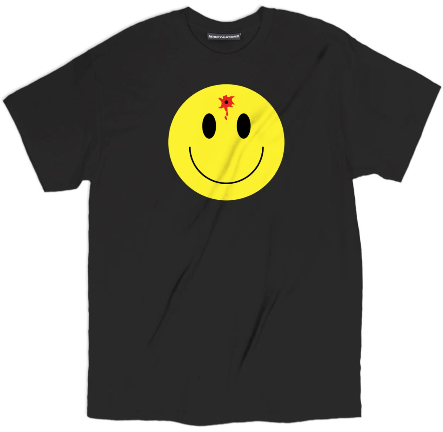 smiley bullet hole shirt, smiley face t shirt, rave shirts, rave t shirts, funny rave shirts,