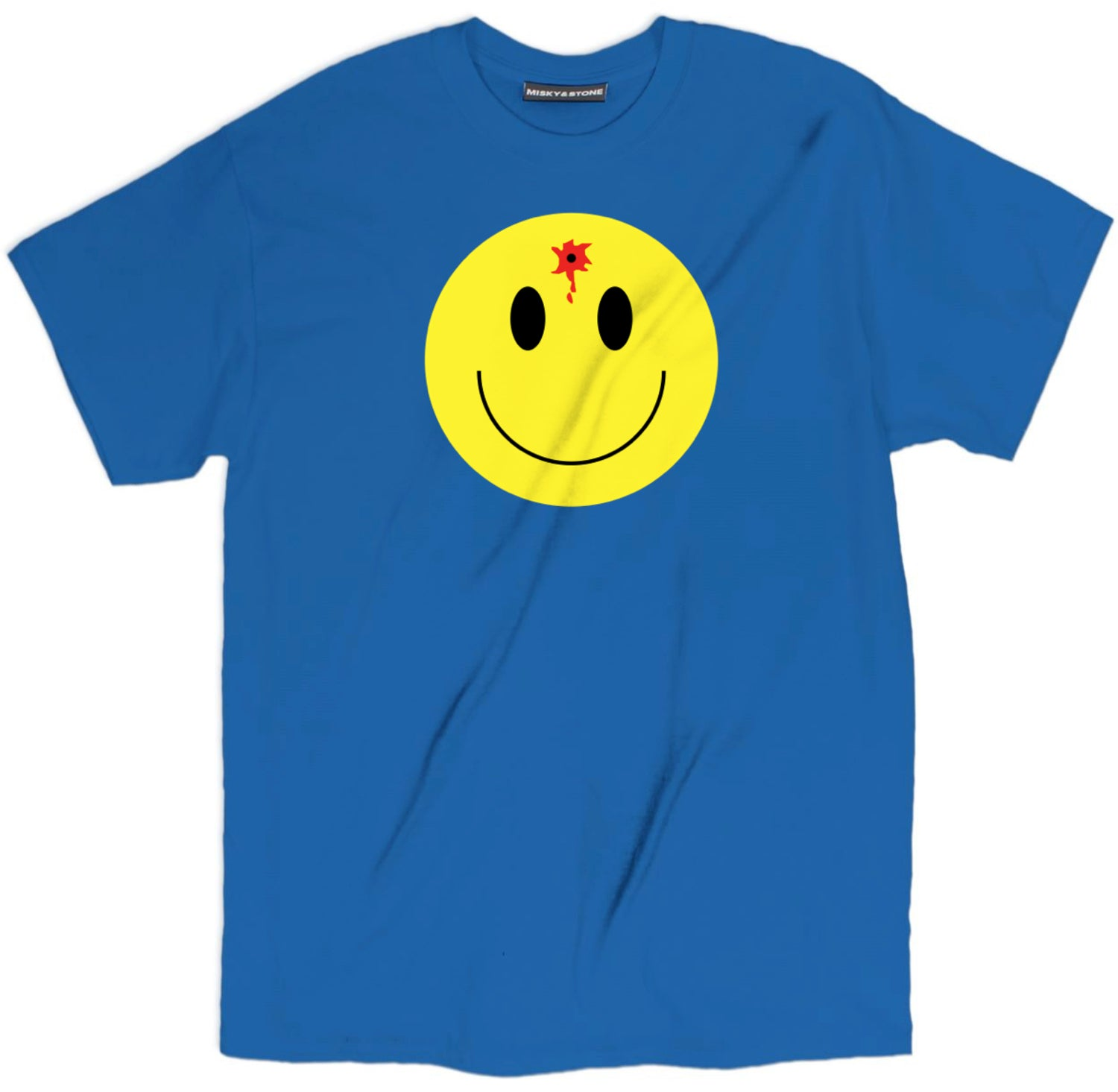 Smiley Face With Bullet Hole Shirt