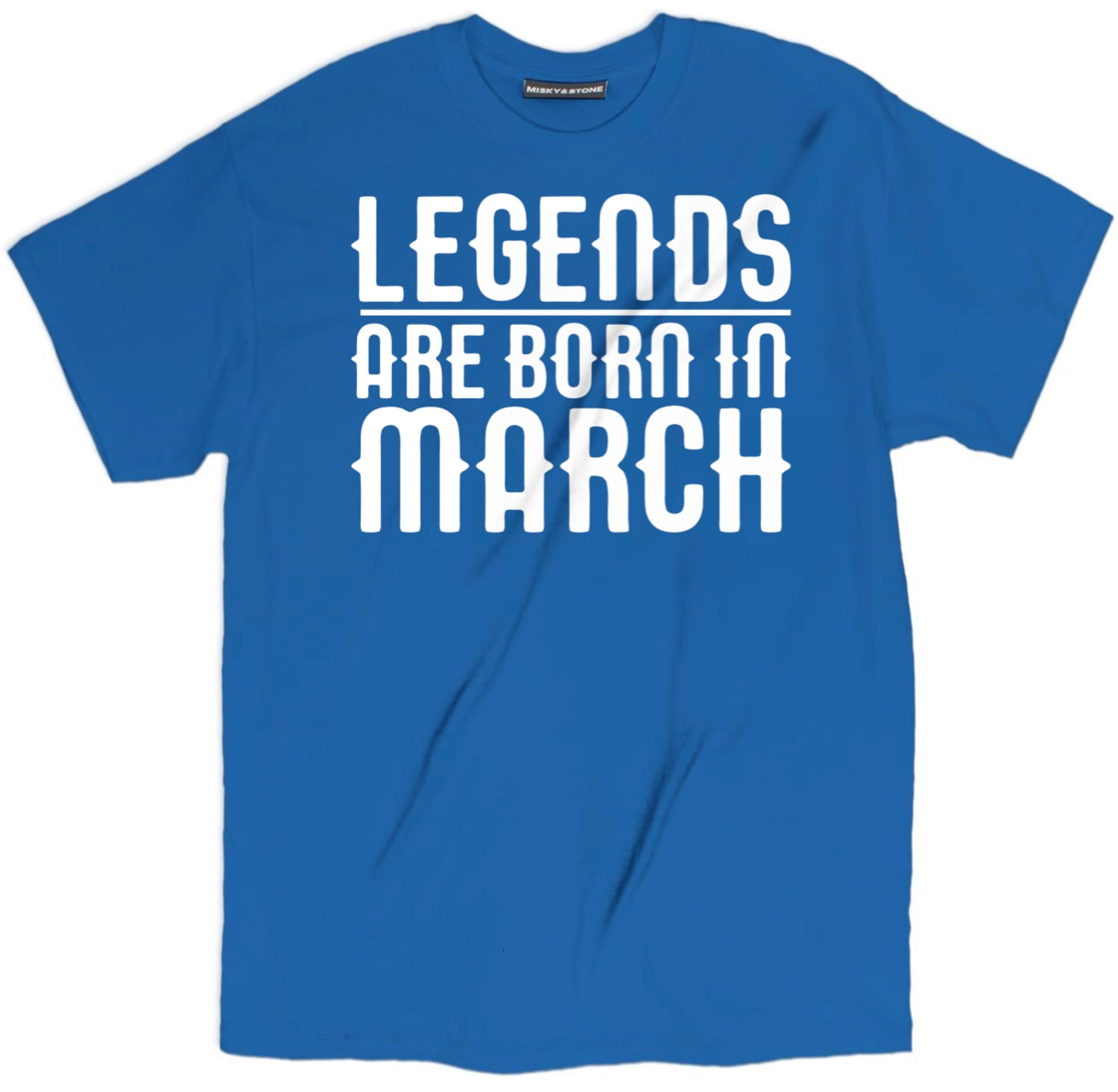 Born In March Tee