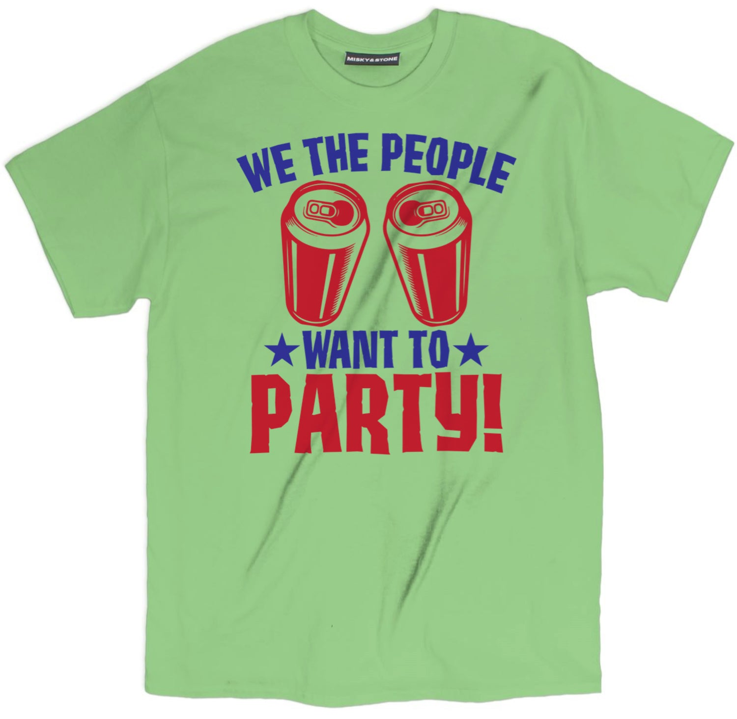 1759ec09 Misky & Stone Misky & Stone We The People Want To Party T Shirt ...