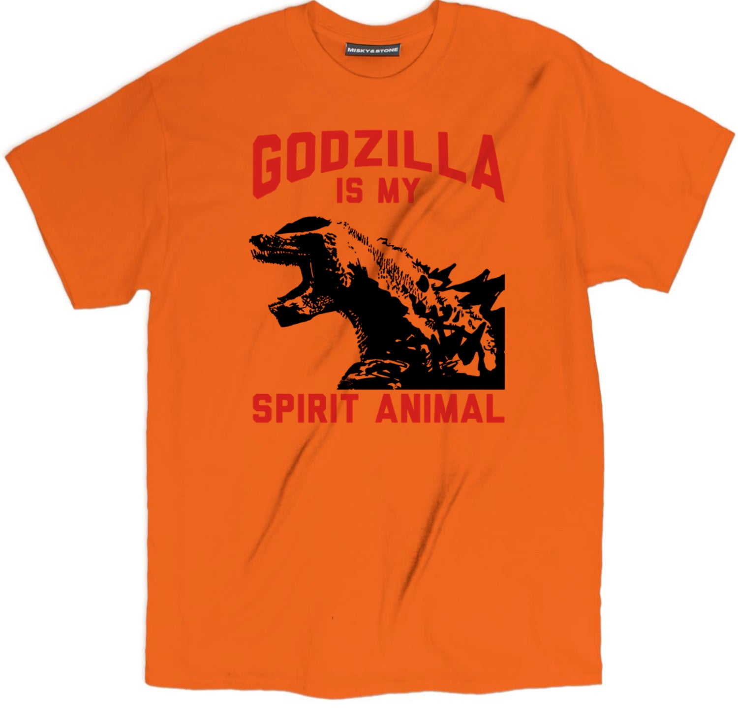 Godzilla Is My Spirit Animal Roaring Tee