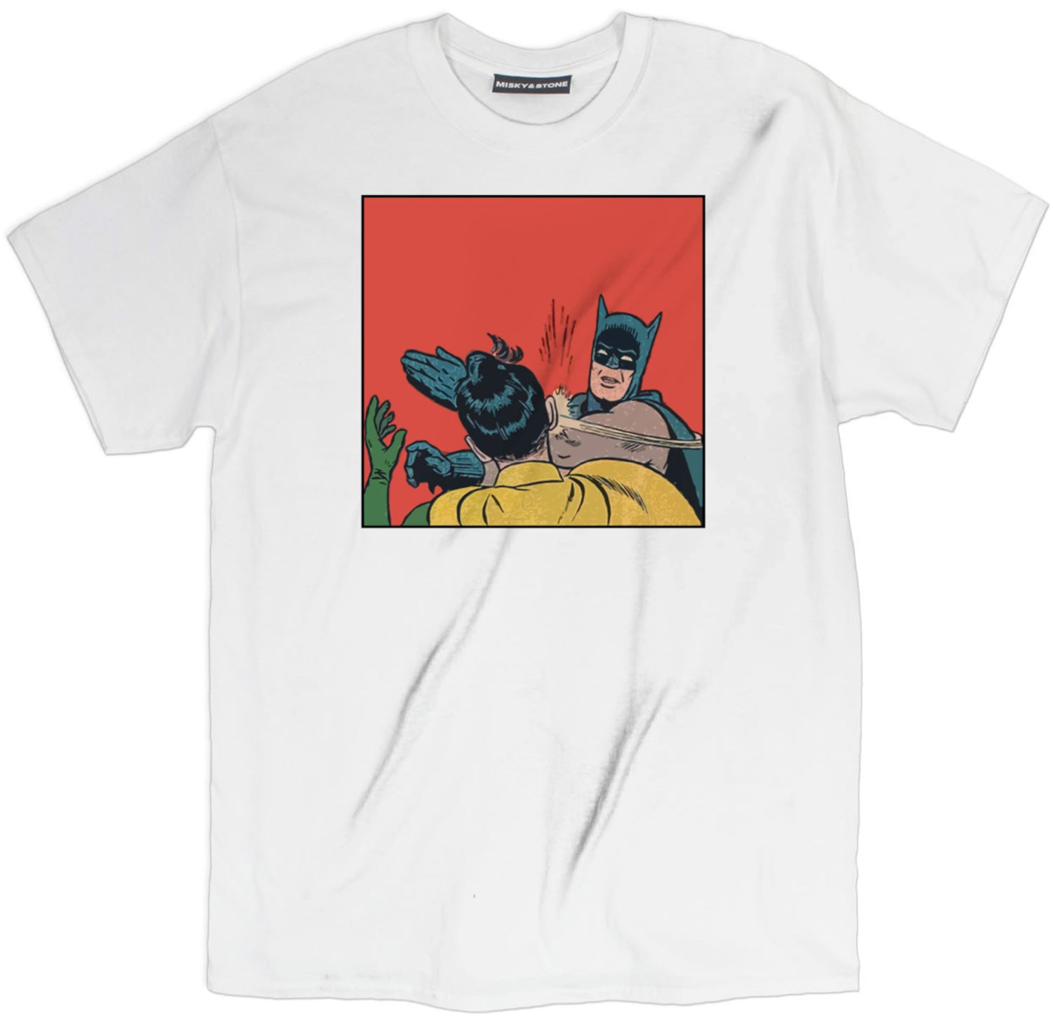Batman Slapping Robin Tee