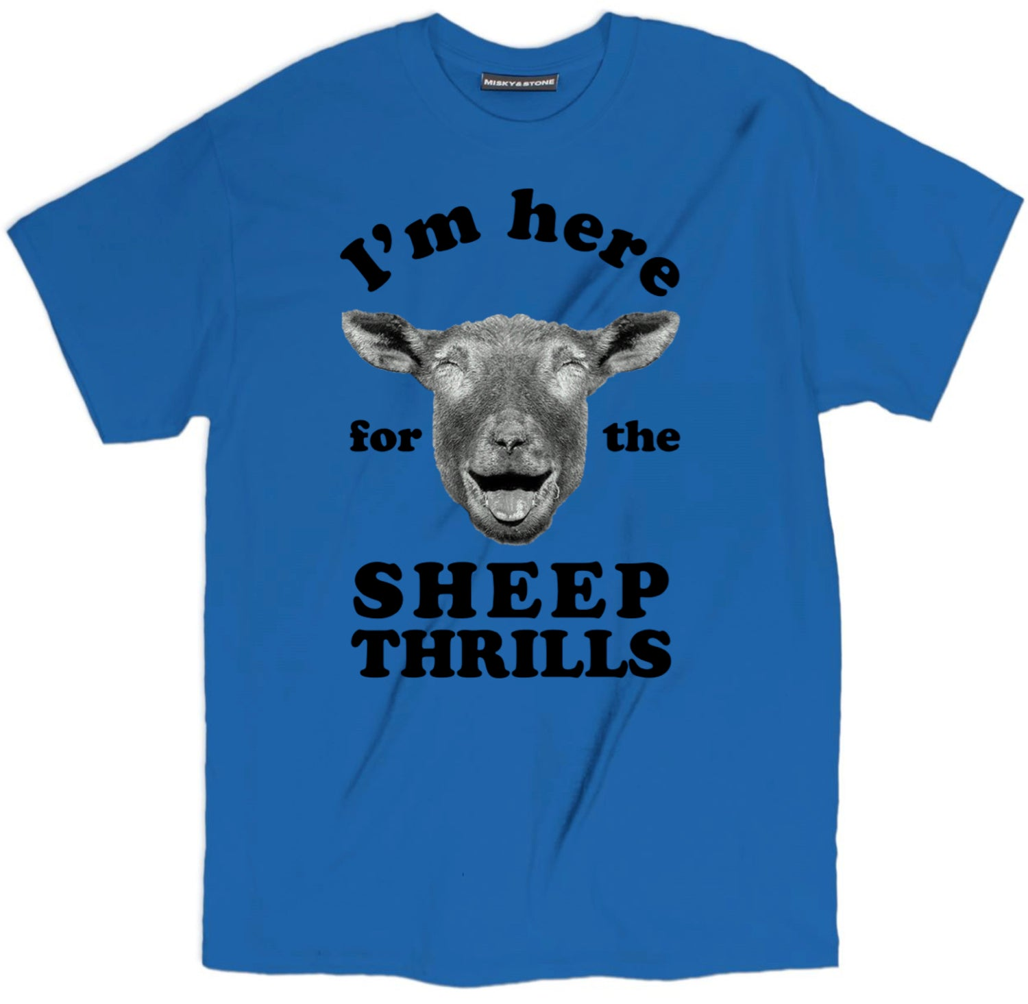 Funny Sheep Thrills T Shirt