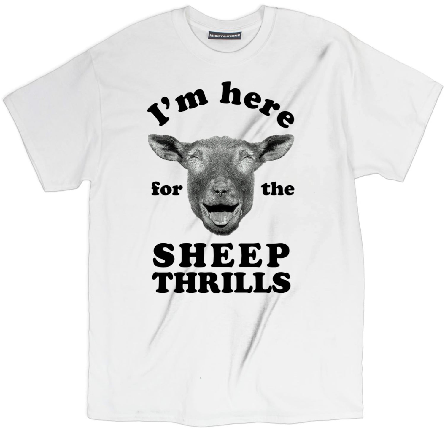 im here for the sheep thrills t shirt, sheep t shirt, funny sheep tee, animal lovers shirts, funny animal shirts, animal shirts, animal t shirts, animal tees, animal tee shirts, animal tee shirts, animal face t shirts, animal graphic tees, cool animal shirts