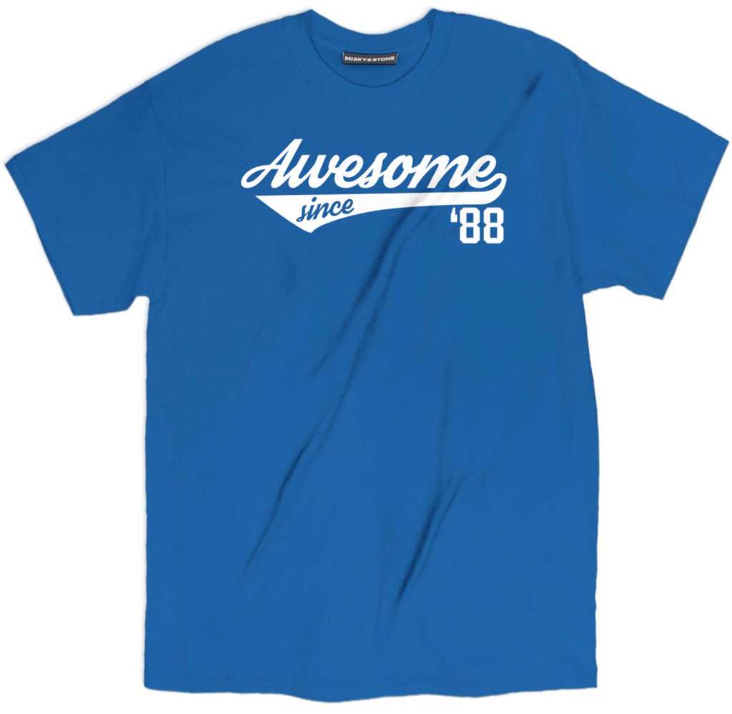 awesome since 88 shirt, awesome since shirt, 88 shirt, 1988 shirt, 1988 t shirt, born in the 80s shirt,