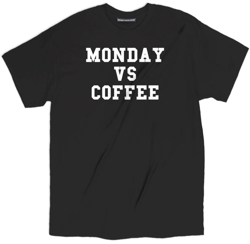 monday vs coffee t shirt, coffee shirts, coffee tee shirts, funny coffee shirts, cute coffee shirts