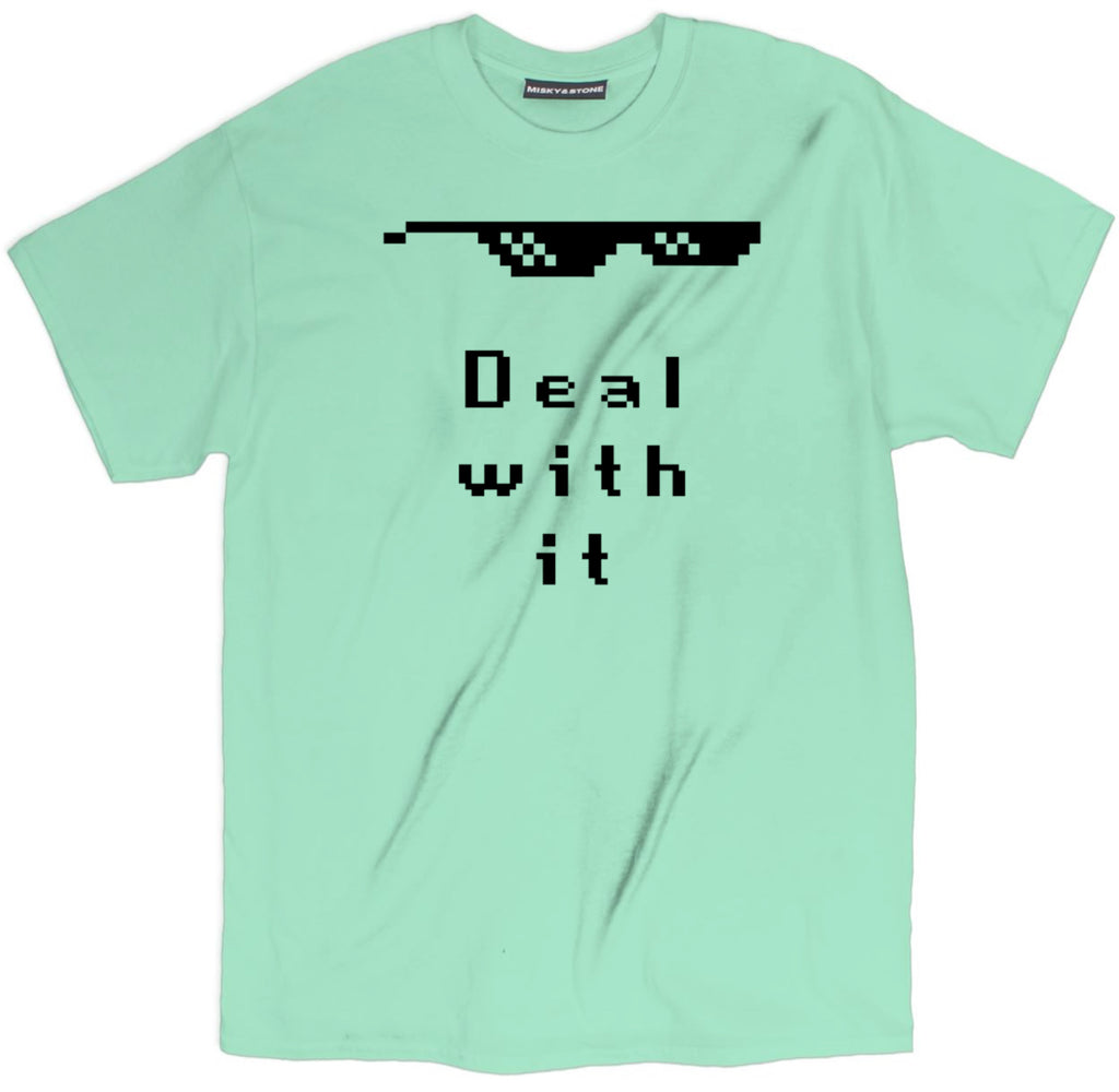 deal with it t shirt, funny meme shirts, funny meme tees, meme shirts, meme t shirts, shirts with memes,