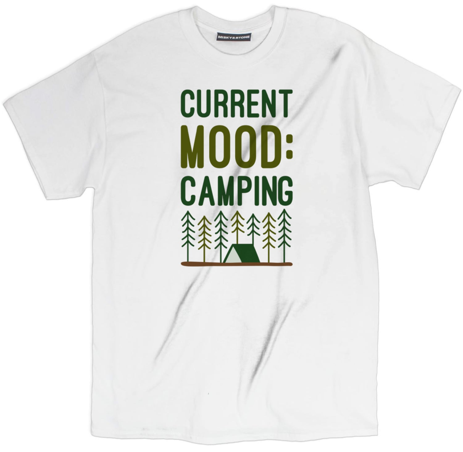 Current Mood Camping Tee
