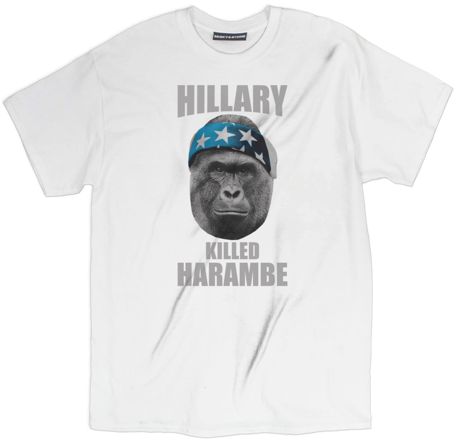 Hillary Killed Harambe Tee
