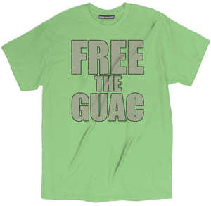 free the guac t shirt, guacamole t shirt, avocado shirt, avocado t shirt, avocado tee, avocado tee shirt, avocado apparel, avocado merch, avocado print shirt,