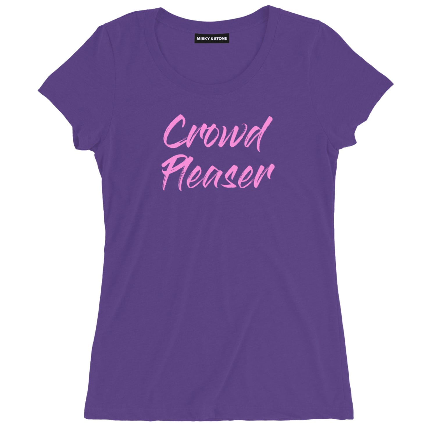 Crowd Pleaser Womens Hip Hop Fan Tee Shirt
