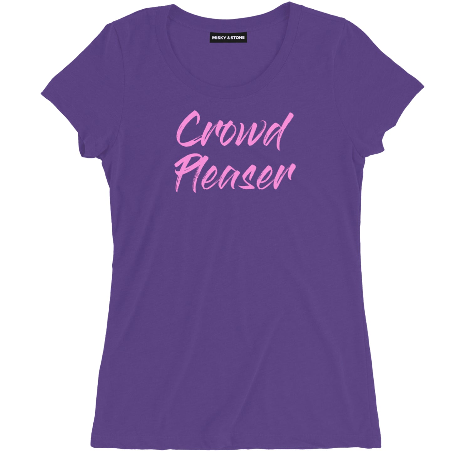 Crowd Pleaser Womens Hip Hop Tee Shirt