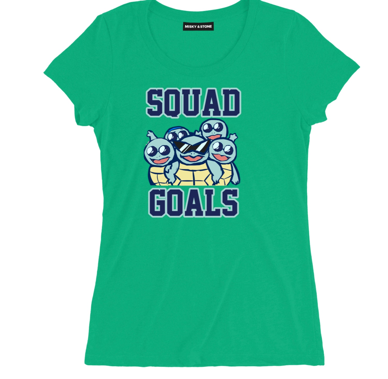 Squirtle Squad Goals Womens Tee