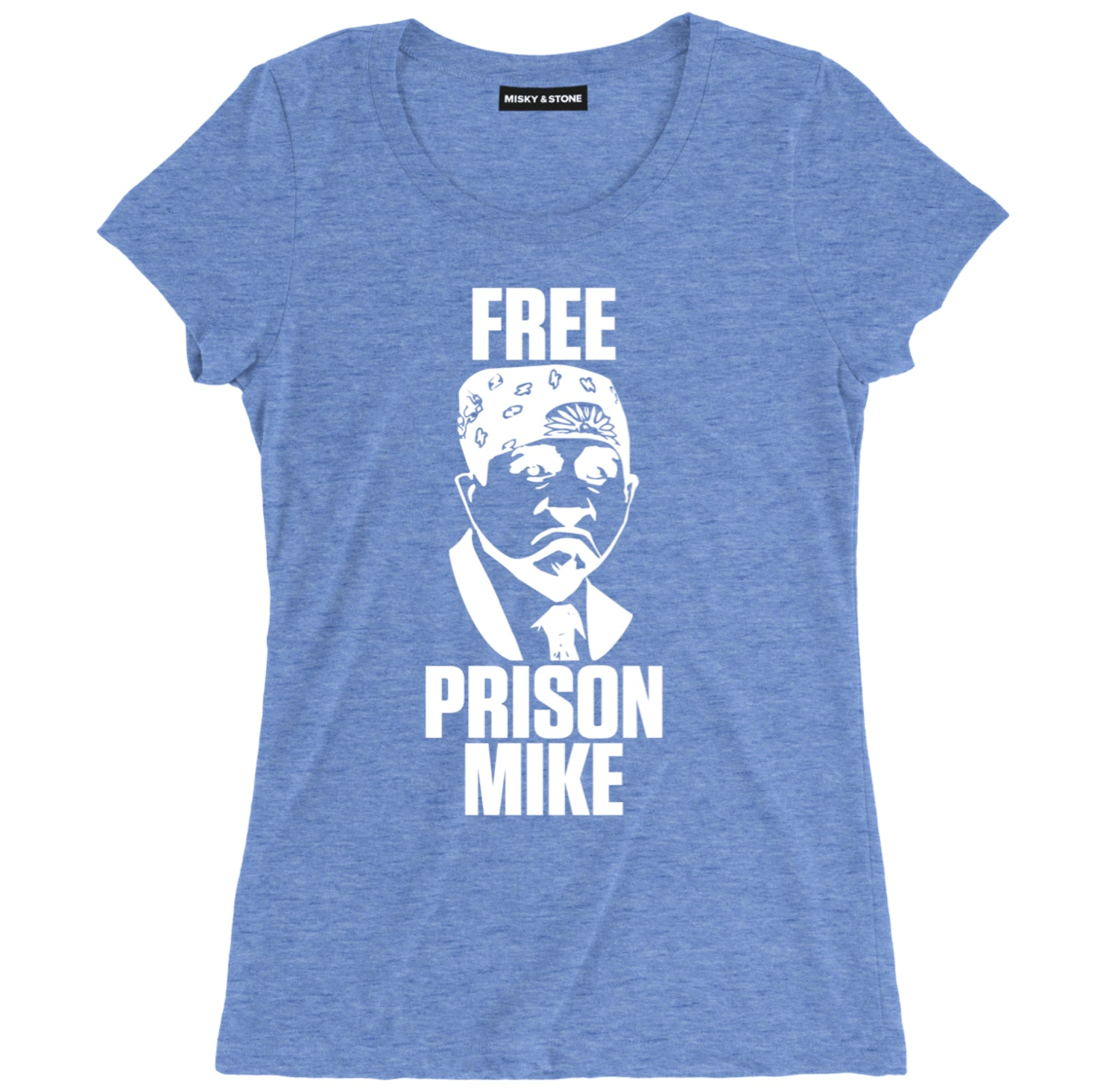 Free Prison Mike Womens Soft Cotton Tee