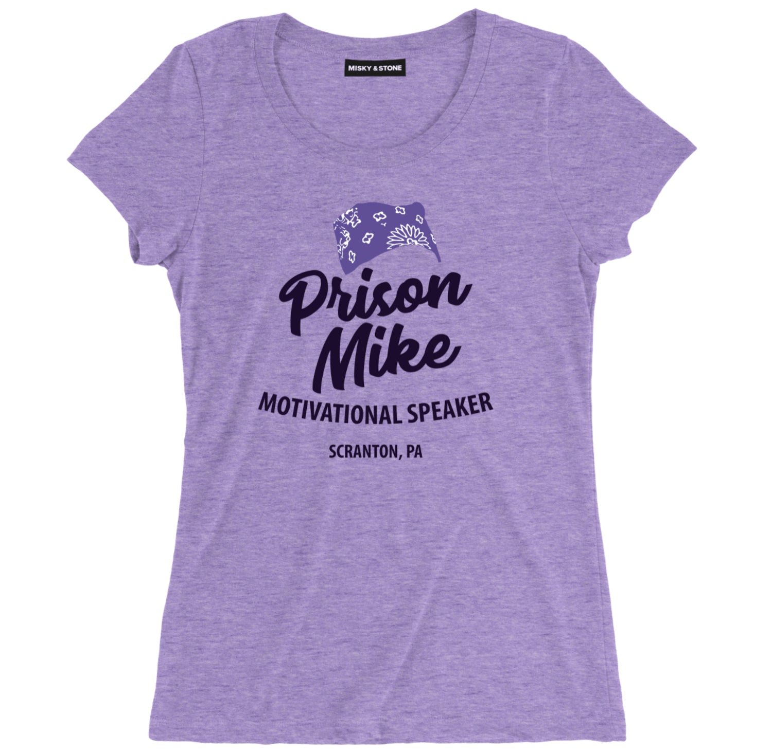 Prison Mike Womens Soft Tee Shirt