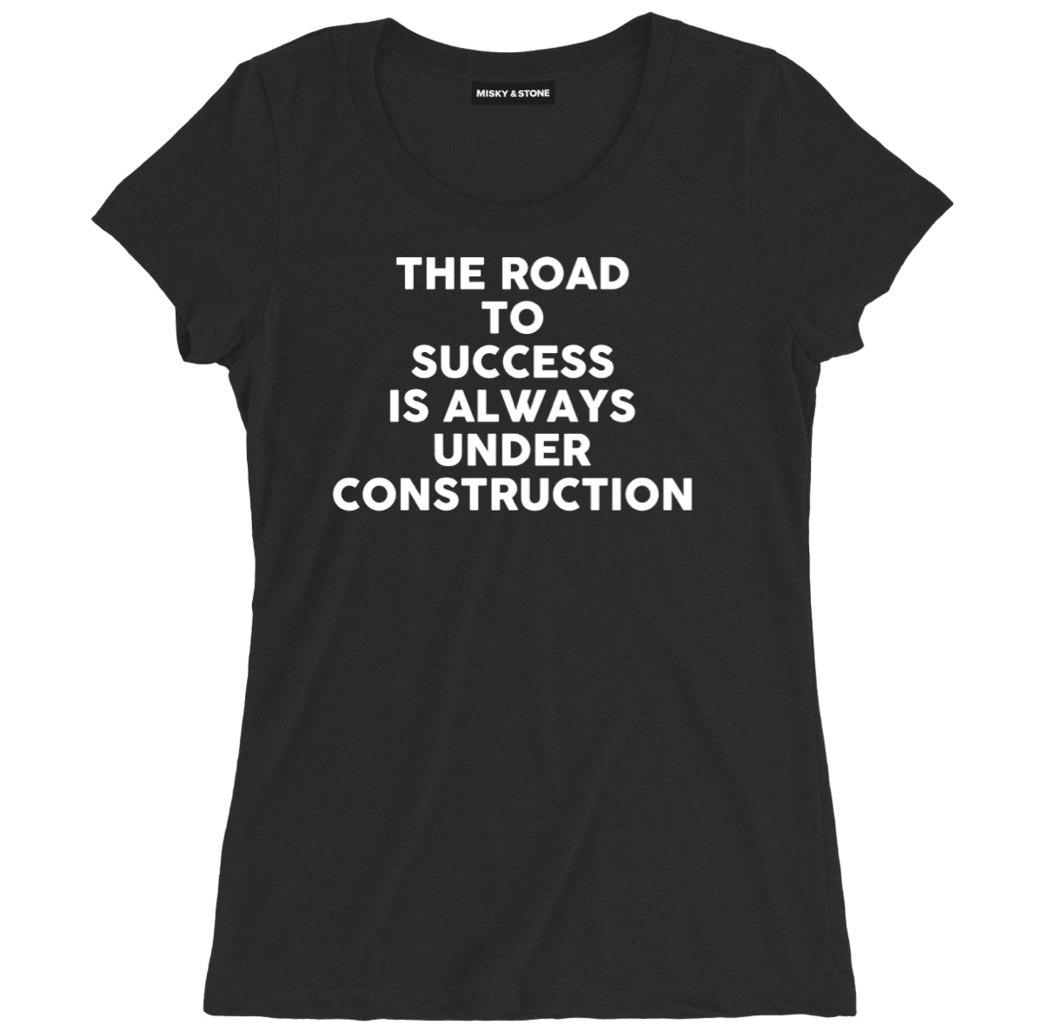 Road To Success Motivational Tee Shirt