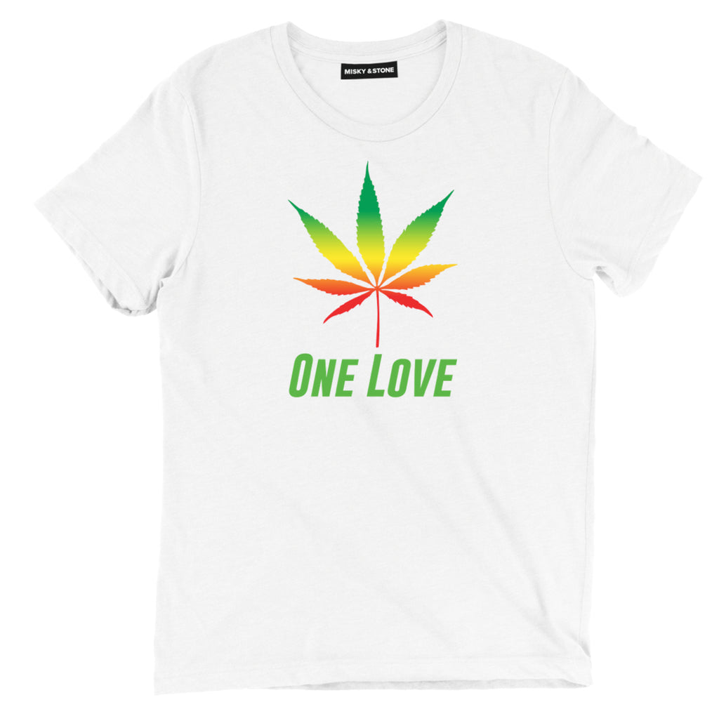One Love weed tee shirt, One Love weed apparel, One Love weed merch, One Love weed clothing, 420 tee shirt, 420 apparel, 420 merch, 420 clothing, funny 420 tee shirt, marijuana tee shirt, marijuana apparel, marijuana merch, marijuana clothing, cannabis wear, pot tee shirt