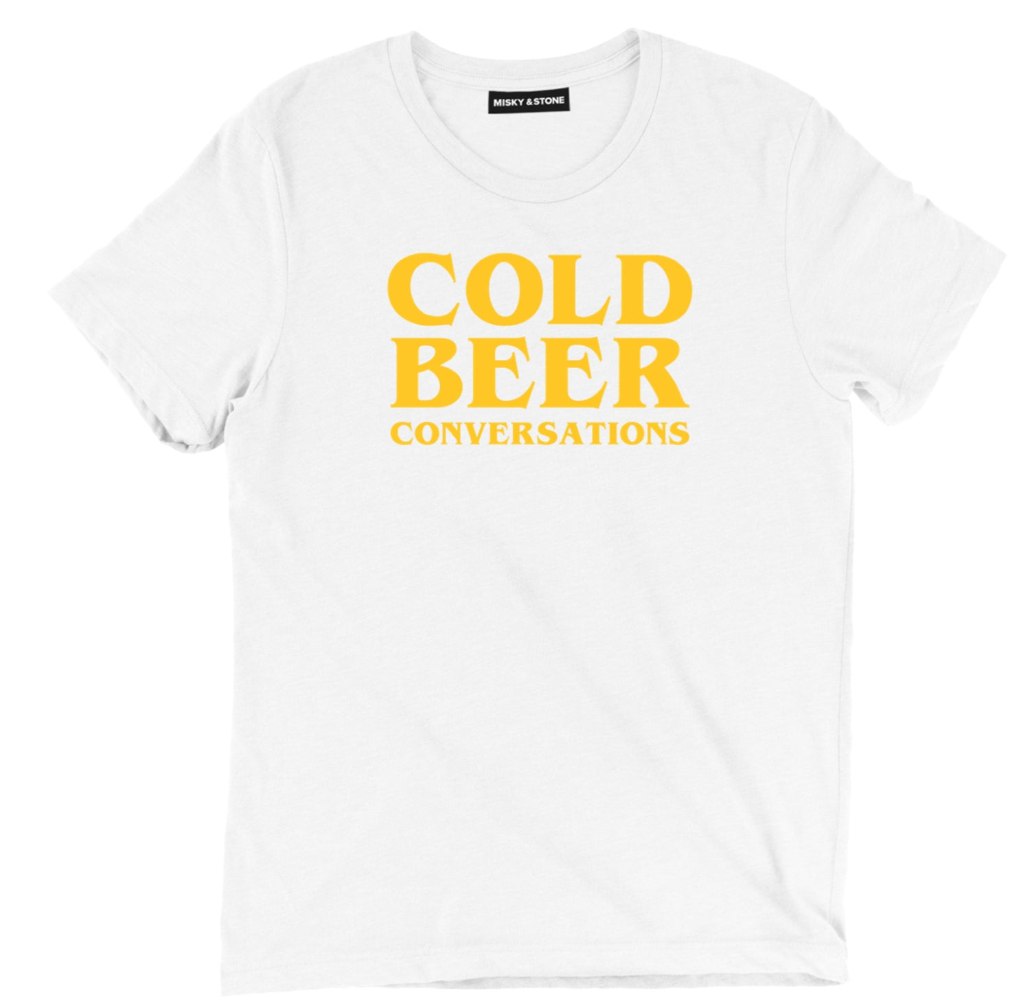 Cold Beer Conversations Tee Shirt