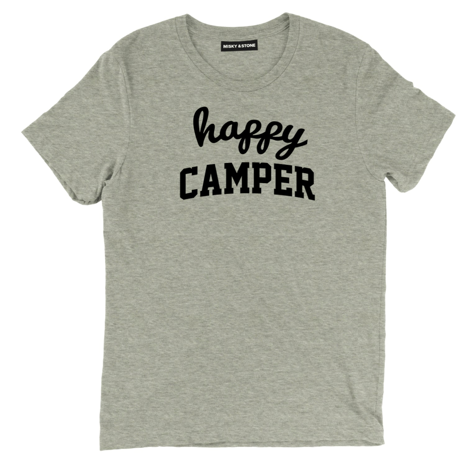Happy Camper camping tee shirt, Happy Camper camping apparel, Happy Camper camping merch, camping clothing, funny camping shirt, camp tee shirt, cool camp tee, camping graphic tee,