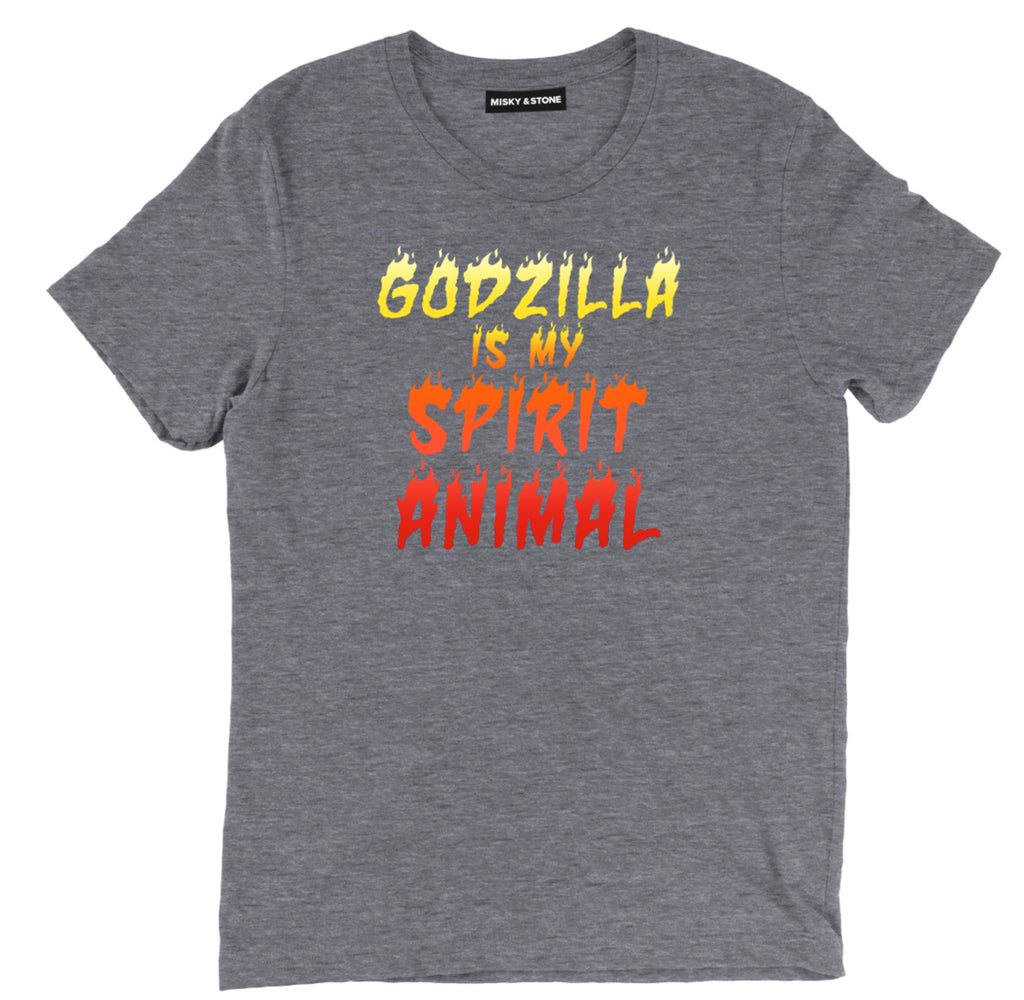 godzilla is my spirit animal tee shirt, godzilla Spirit Animal clothing, godzilla Spirit apparel, godzilla merch, Godzilla movie tee