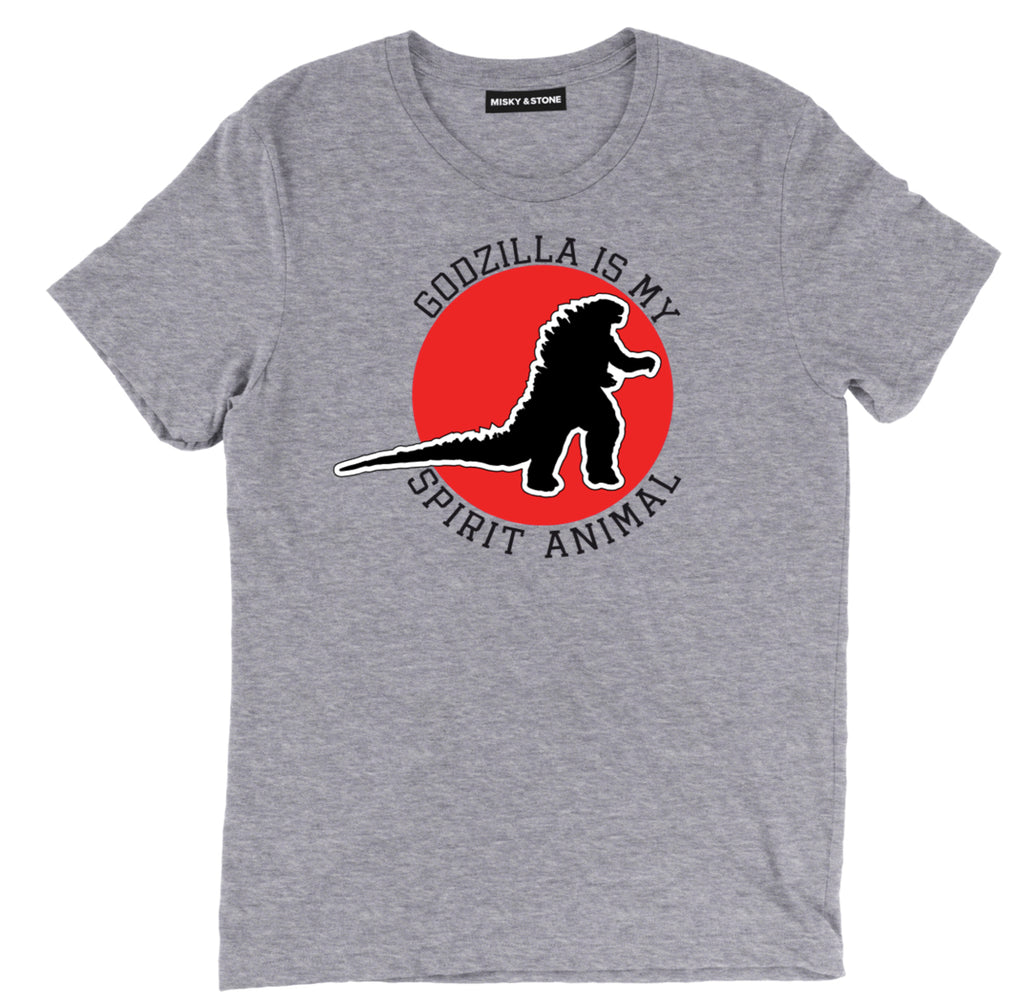 godzilla is my spirit animal tee shirt, godzilla is my spirit animal  clothing, godzilla is my spirit animal apparel, godzilla merch