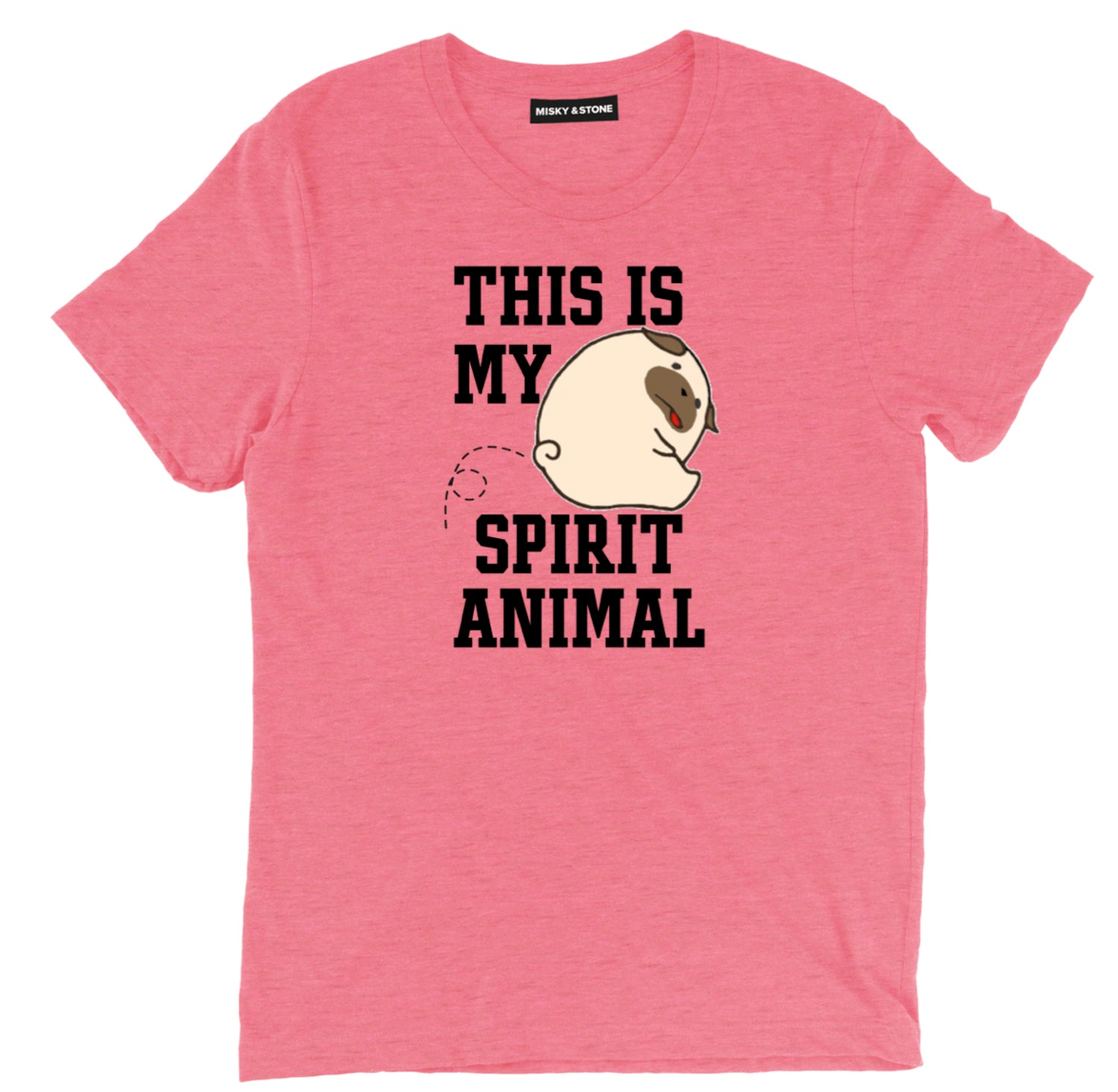 This Is My Spirit Animal Silly Dog Unisex T-Shirts