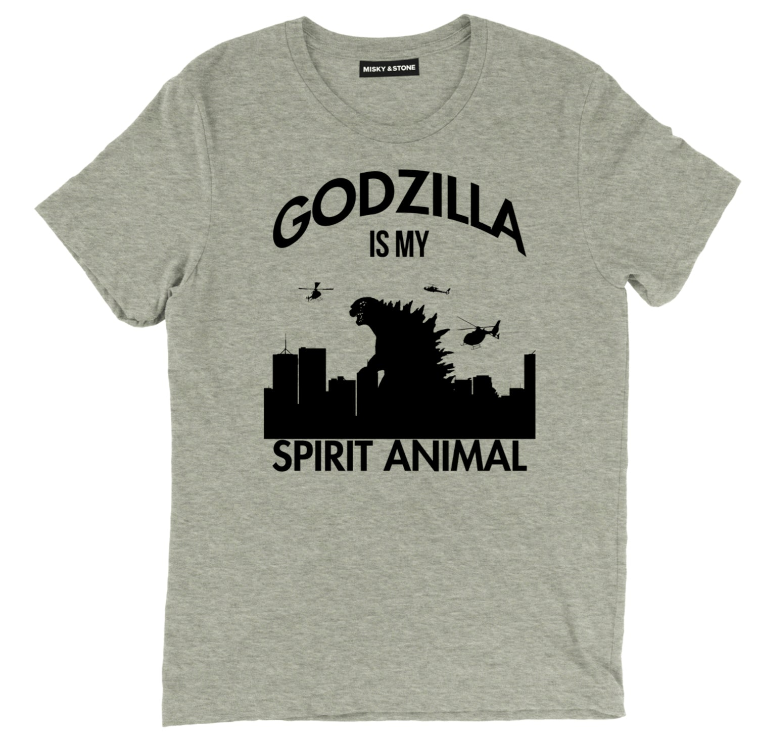 godzilla is my spirit animal tee shirt, godzilla is my spirit animal clothing, godzilla spirit animal apparel, godzilla merch