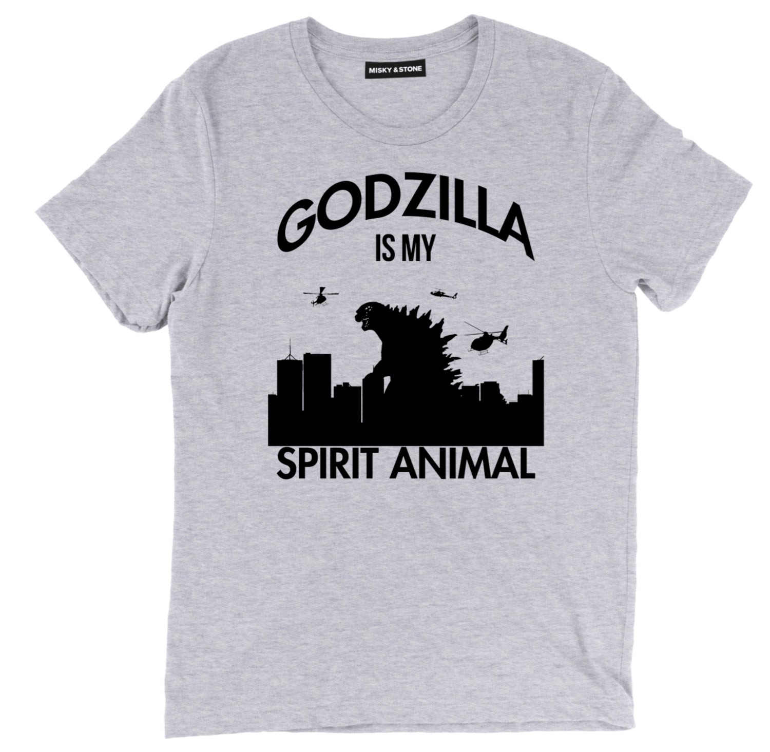 Godzilla Is M Spirit Animal Unisex Tee Shirt