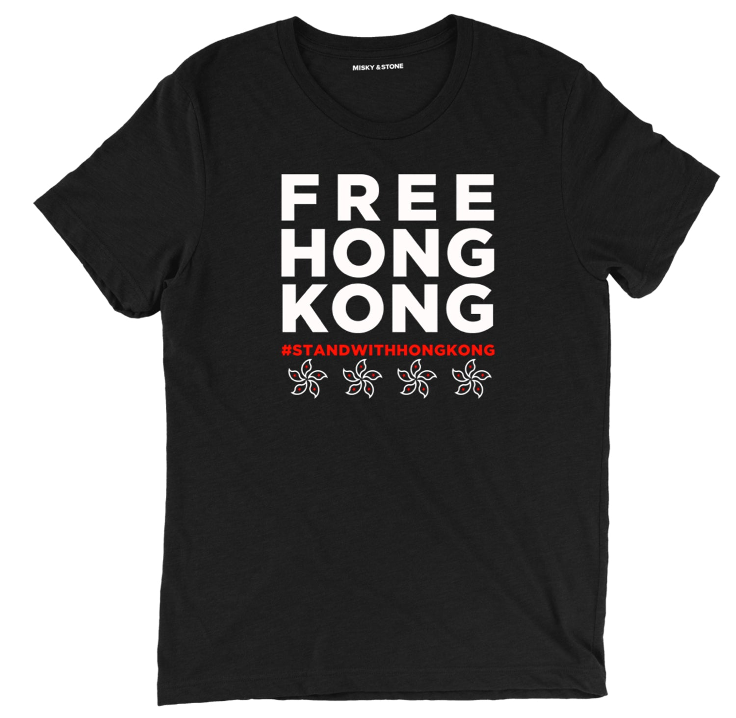 Free Hong Kong T-Shirt, support hong kong t shirt, free hong kong political tee shirts, Hong Kong Strong political clothing, Stay Strong political apparel, Stand with Hong Kong political merch